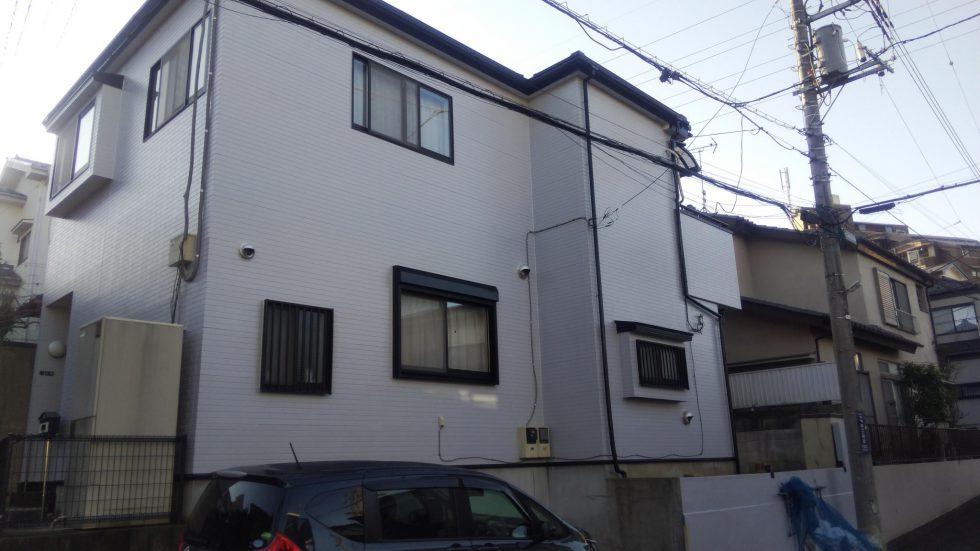 和光市S様邸 屋根:スレート 外壁:サイディング