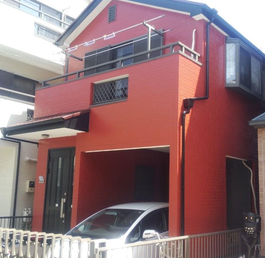 朝霞市W様邸 屋根:スレート 外壁:サイディング